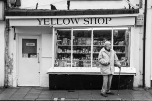 yellow shop