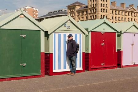 Camouflage - Brighton Folk street photography series