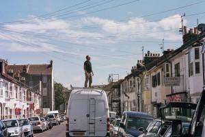 Roofer - Brighton Folk street photography series