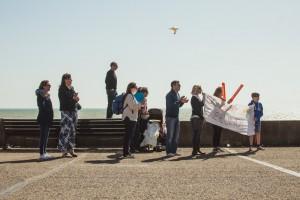 Support II - Brighton Folk street photography series