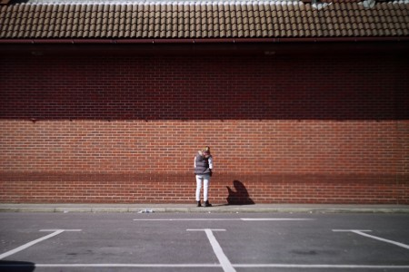 Bricked My Phone - Brighton Folk street photography series