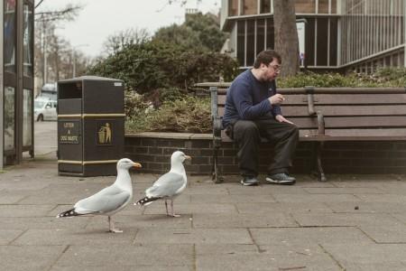 Crumbs - Brighton Folk - street photography series