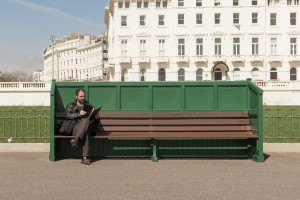 Tell Me About Your Childhood - Brighton Folk street photography series